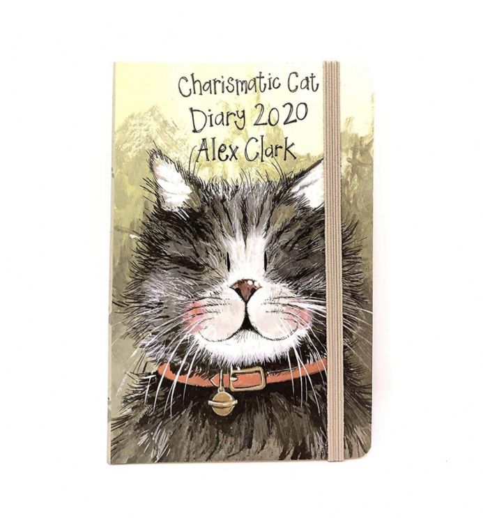 Alex Clark Charismatic Cat 2020 Pocket Size Diary